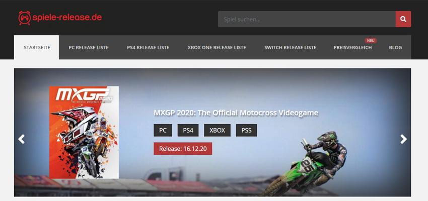 Spiele-Release (Gaming-Projekt)