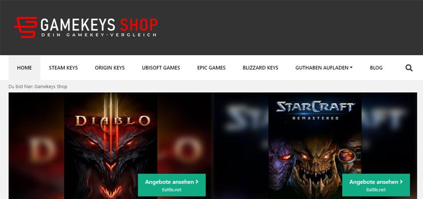 Gamekeys-Shop.de (Preisvergleich)